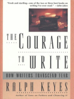 The Courage to Write