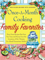 Once-A-Month Cooking Family Favorites