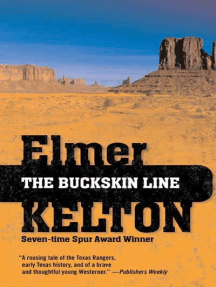The Buckskin Line: A Novel of the Texas Rangers