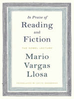 In Praise of Reading and Fiction: The Nobel Lecture