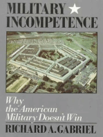 Military Incompetence