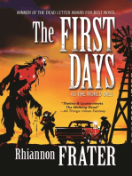 The First Days (As the World Dies, Book One)