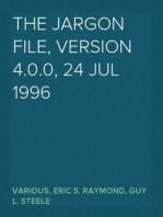 The Jargon File, Version 4.0.0, 24 Jul 1996