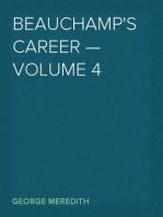 Beauchamp's Career — Volume 4