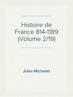 Histoire de France 814-1189 (Volume 2/19)