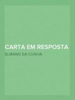 Carta em resposta a outra bom senso e bom gosto dirigida por Anthero do Quental ao ex.mo sr. A. F. de Castilho o incomparavel tr