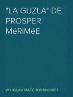 """""""La Guzla"""" de Prosper Mérimée"""