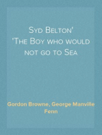 Syd Belton The Boy who would not go to Sea