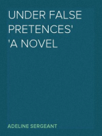 Under False Pretences A Novel