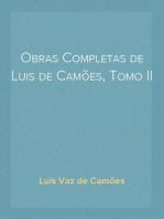 Obras Completas de Luis de Camões, Tomo II