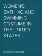 Women's Bathing and Swimming Costume in the United States