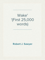 Wake (First 25,000 words)