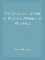 The Diary and Letters of Madame D'Arblay — Volume 2