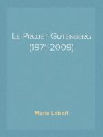 Le Projet Gutenberg (1971-2009)