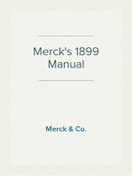Merck's 1899 Manual