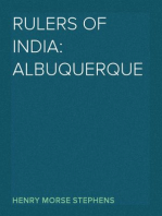 Rulers of India: Albuquerque