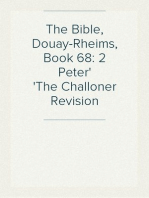 The Bible, Douay-Rheims, Book 68
