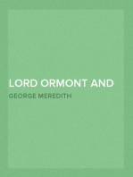Lord Ormont and His Aminta — Volume 4