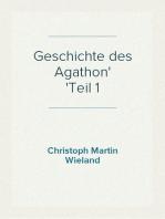 Geschichte des Agathon Teil 1