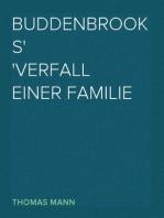 Buddenbrooks Verfall einer Familie