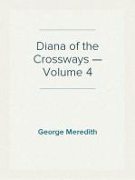 Diana of the Crossways — Volume 4