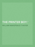 The Printer Boy. Or How Benjamin Franklin Made His Mark. An Example for Youth.