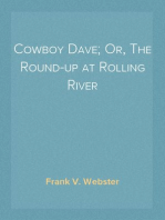Cowboy Dave; Or, The Round-up at Rolling River