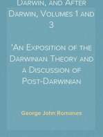 Darwin, and After Darwin, Volumes 1 and 3