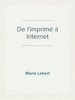 De l'imprimé à Internet