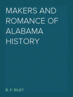 Makers and Romance of Alabama History