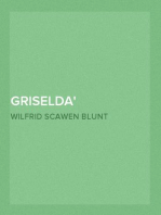 Griselda a society novel in rhymed verse