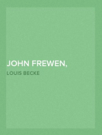 John Frewen, South Sea Whaler 1904