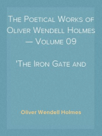 The Poetical Works of Oliver Wendell Holmes — Volume 09