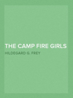 The Camp Fire Girls at Camp Keewaydin; Or, Paddles Down
