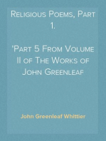 Religious Poems, Part 1.