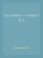 Les guêpes — séries 1 & 2