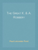The Great K. & A. Robbery