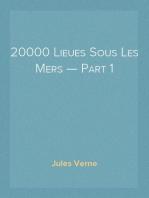 20000 Lieues Sous Les Mers — Part 1