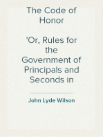 The Code of Honor