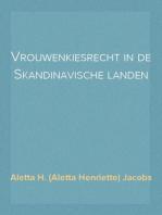 Vrouwenkiesrecht in de Skandinavische landen