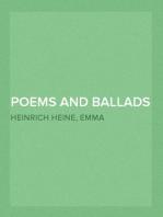Poems and Ballads of Heinrich Heine