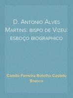 D. Antonio Alves Martins
