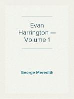 Evan Harrington — Volume 1