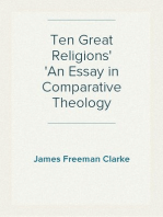 Ten Great Religions An Essay in Comparative Theology