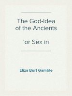 The God-Idea of the Ancients