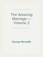 The Amazing Marriage — Volume 2