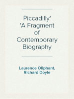 Piccadilly A Fragment of Contemporary Biography