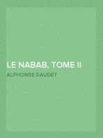 Le nabab, tome II