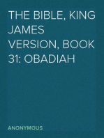 The Bible, King James version, Book 31
