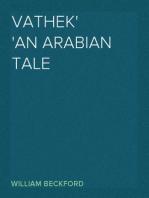 Vathek An Arabian Tale